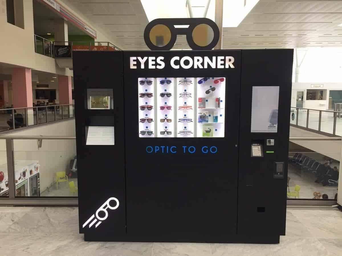exemple de distributeur de lunette
