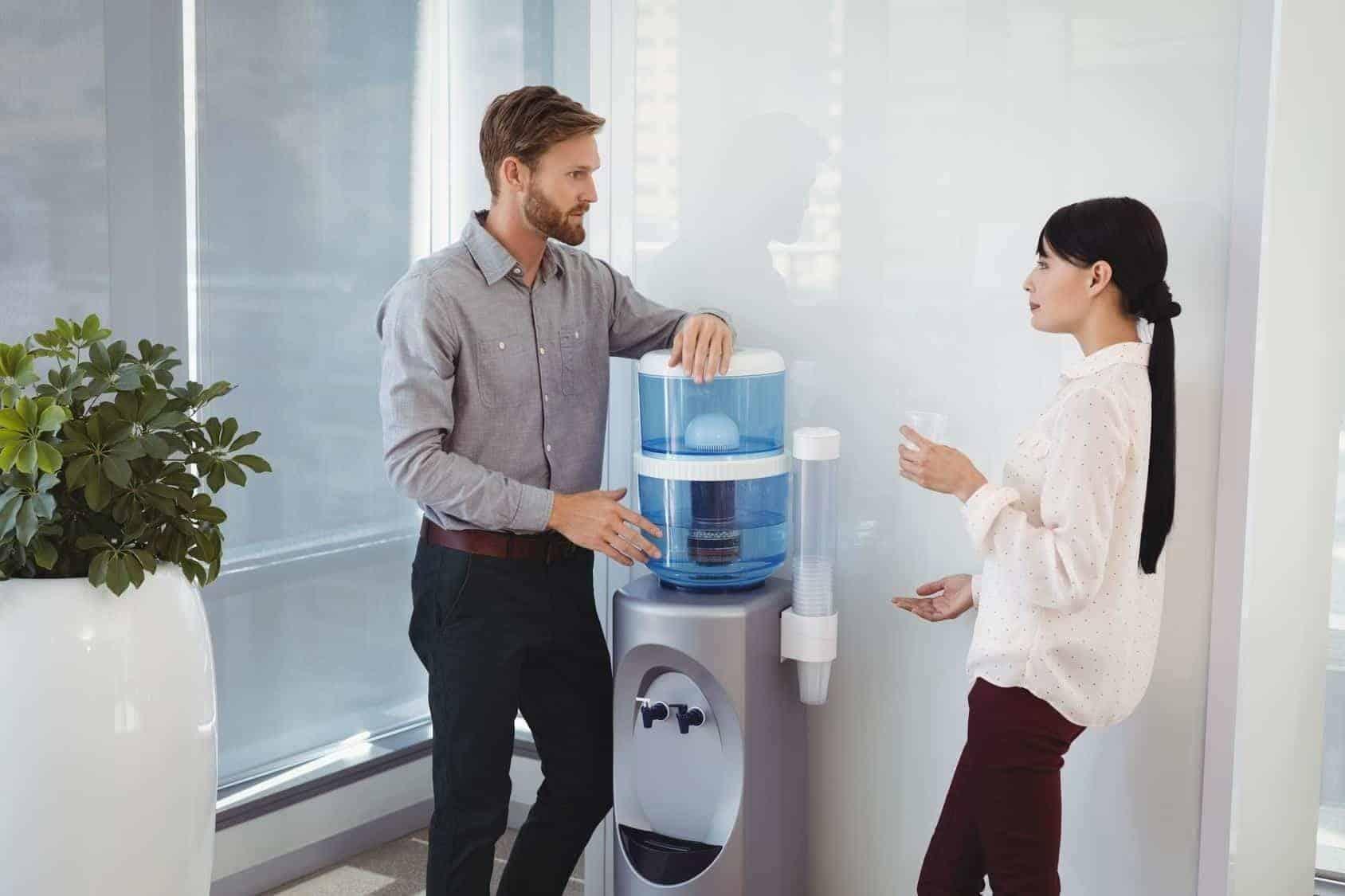 choisir sa Fontaine d'eau pour son entreprise