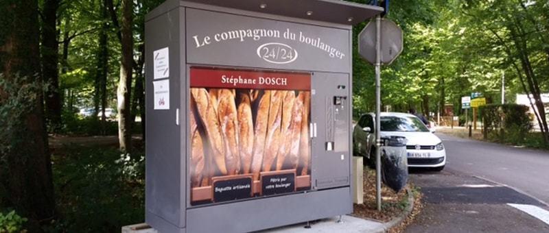 distributeur de pain automatique